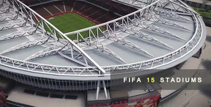 Todos los Estadios de FIFA 15