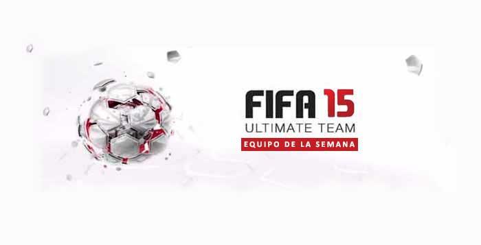 Equipo de la Semana - Todo TOTW de FIFA 15 Ultimate Team