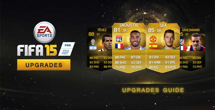 Guía para FIFA 15 Ultimate Team Upgrades/Mejoras