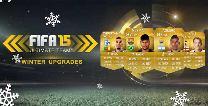 Jugadores Mejorados en FIFA 15 Ultimate Team (Up's)