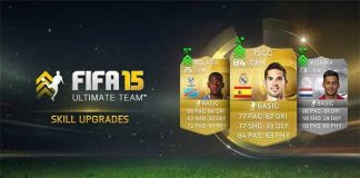 Actualización de Skills en FIFA 15 Ultimate Tea