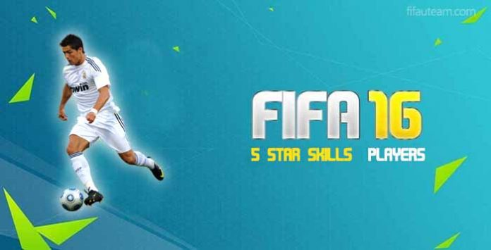 Jugadores de FIFA 16 con 5 estrellas de skills