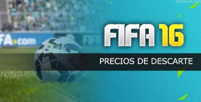 Precios de Descarte en FIFA 16 Ultimate Team