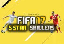 Jugadores de FIFA 17 con 5 estrellas de skills