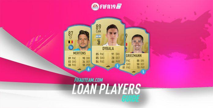 Jugadores a Préstamo para el Ultimate Team de FIFA 19