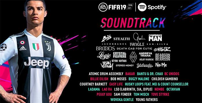 Banda Sonora de FIFA 19