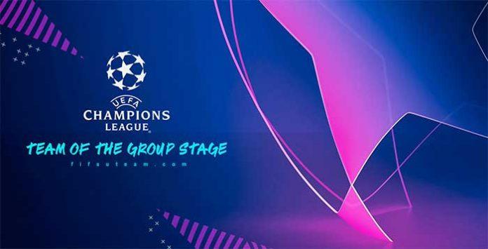 Cartas UEFA Team of the Groups Stage en FIFA 19
