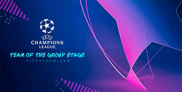 Cartas UEFA Team of the Groups Stage en FIFA 19