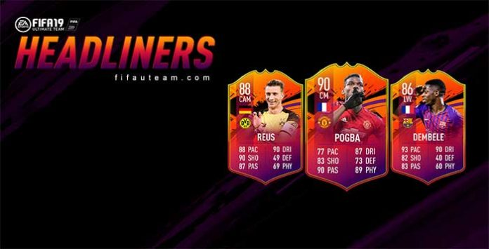 Headliners de FIFA 19 Ultimate Team