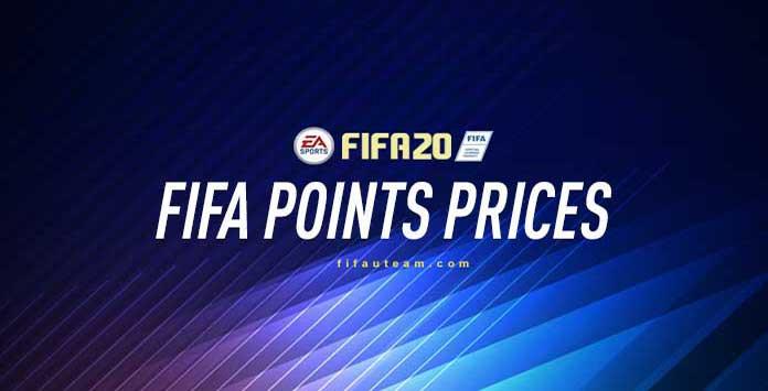Precios de los FIFA Points para FIFA 20 Ultimate Team