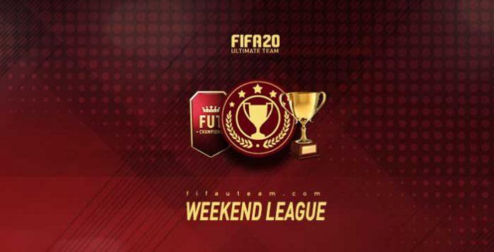 Weekend League para el Ultimate Team en FIFA 20