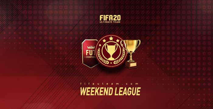 Weekend League para el Ultimate Team en FIFA 20
