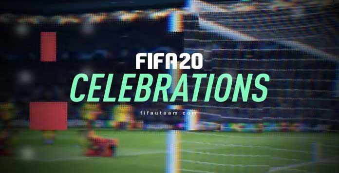 Guía de Celebraciones para FIFA 20