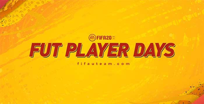 Días de Jugador de FUT 20