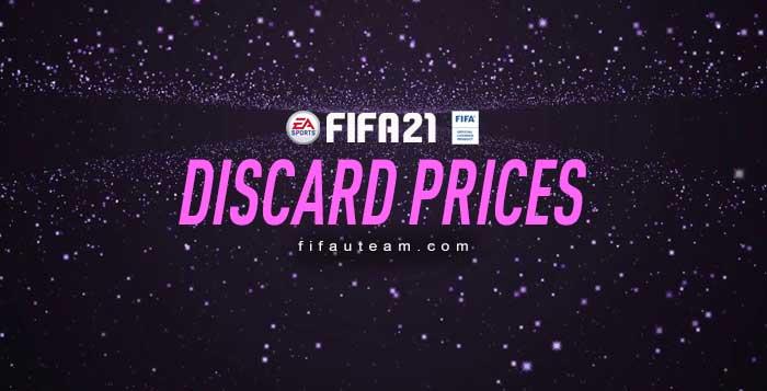 Precios de Descarte en FIFA 21 Ultimate Team