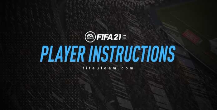 Instrucciones Del Jugador FIFA 21