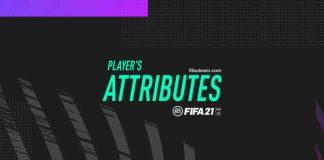 Atributos en FIFA 21