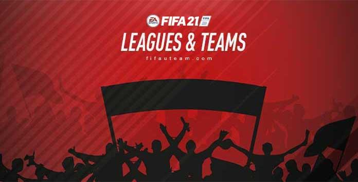 Todos los Clubes, Ligas y Selecciones Nacionales de FIFA 21
