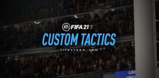 Tácticas Personalizadas en FIFA 21