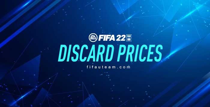 Precios de Descarte en FIFA 22 Ultimate Team