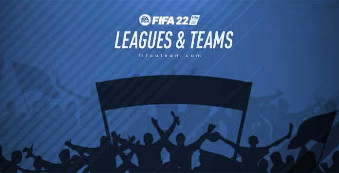 Todos los Clubes, Ligas y Selecciones Nacionales de FIFA 22
