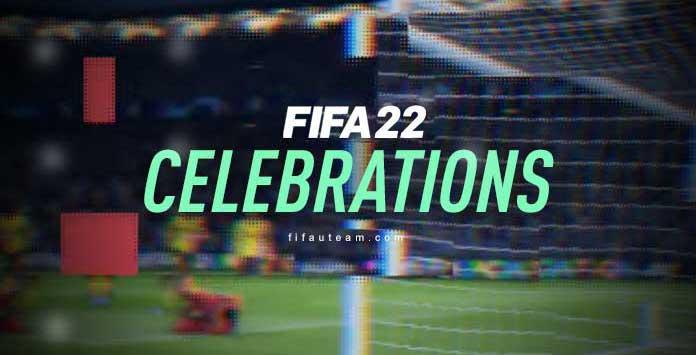 Guía de Celebraciones para FIFA 22